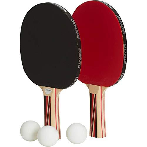 DONIC Top Team Tischtennis-schläger-Set, schwarz, One Size