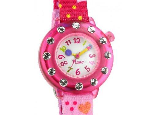 Baby Watch Nano Strass Pink