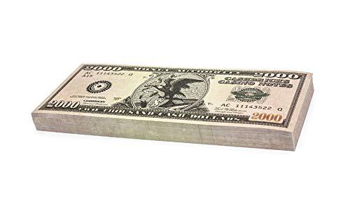 Cashbricks 100 x $2.000 Dollar Spielgeld Scheine