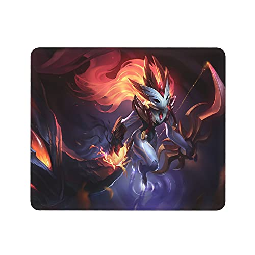 Kindred L-oL League Legends Mouse Pad,LOL Gaming Mouse Pad,Non-Slip Rubber Mouse Mat for Pc Computer