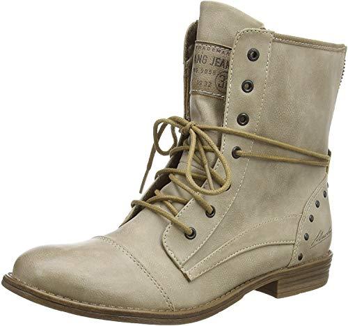 MUSTANG Damen Stiefelette Beige, Schuhgröße:EUR 45