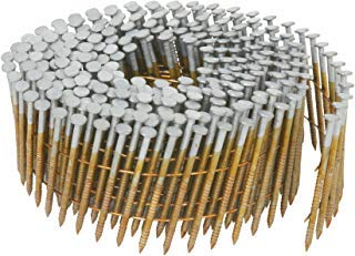 Metabo HPT Siding Nails, 1-3/4-Inch x .092-Inch, Collated Wire Coil, 15 Degree, Full Round-Head, Ring Shank, Hot-Dipped Galvanized, 3600 Count (13363HPT)