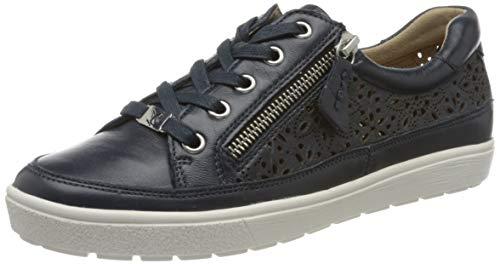 CAPRICE Damen Manou Sneaker, Ocean Nappa, 39 EU