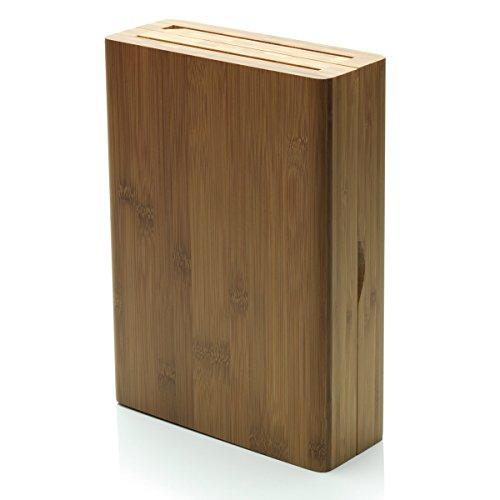 Alessi - GAG508 - K-Block ceppo per coltelli in legno di bambù con apertura a libro