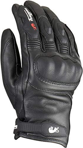 Furygan TD21 All Season Leather Waterproof CE Motorcycle Gloves - Black M
