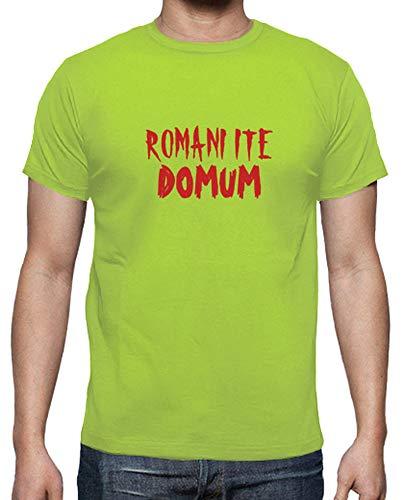 latostadora - Camiseta Romani ITE Domum para Hombre Pistacho S