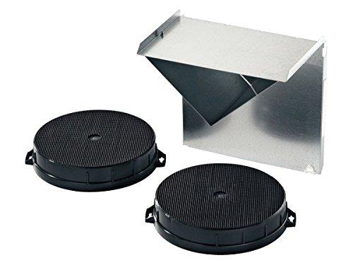 Siemens LC64WA521Hotte aspirante 60cm Puissance de ventilation de 400m³/h pour un air frais lors de la cuisson Avec accessoires Siemens LZ52750/filtres/pour mode recyclage Accessoires