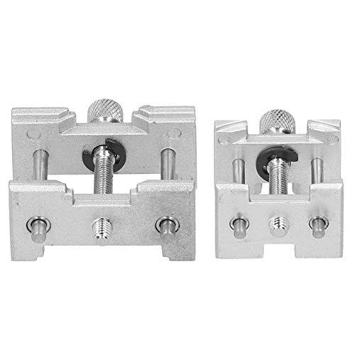 Alu-Festkörpergehäuse Klemmöffnungshalter Basiswartungswerkzeug Uhrgehäuseöffner Uhrmacher Reparaturzubehör für Nr. 4039 - B, Uhrwerkhalter WerkzeugeZubehör