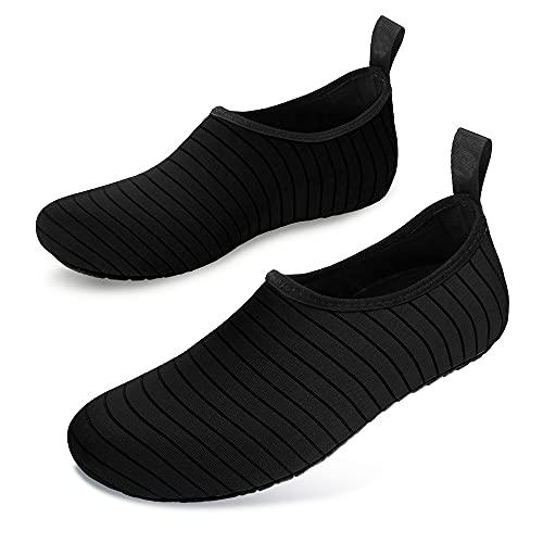 Aibabely Zapatos, zapatos de agua de secado rápido ultra ligero de secado rápido descalzo Aqua calcetines para la playa, natación, surf, yoga ejercicio
