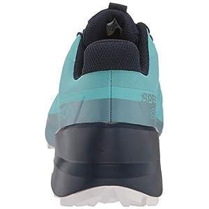 Salomon Women's Speedcross 5 GTX Trail Running Shoes, Meadowbrook/Navy Blazer/White San, 9