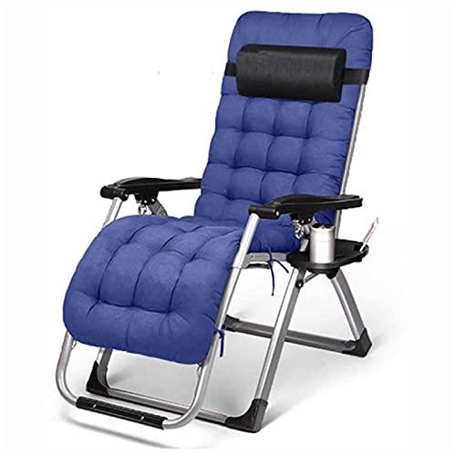 CHLDDHC Outdoor Leisure Recliner Chair, Outdoor Klappstuhl, Zero Gravity Reclining Camping Chair, Klappbarer Sun Beach Leisure Garden Beach Chair