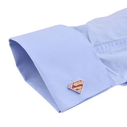 ToyCenter Superman Cufflinks – Yellow and Red