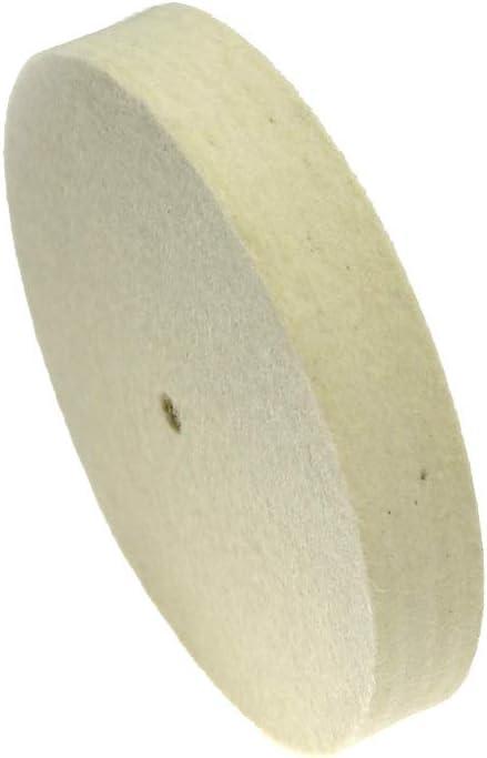 25mm laine feutre polissage roue de polissage jade miroir de miroir m/étal finition de balan/çoire Pour le polissage Size : 5 inch 125mm Meule 125-300mm