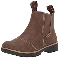 powerful JBU by Jambu Eagle Women's Waterproof Chelsea Boots, Brown, 9m.