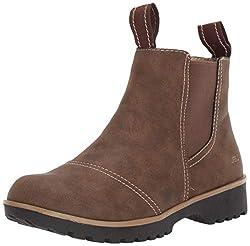 top 10 jbu winter boots JBU by Jambu Eagle Waterproof Chelsea Boots Women's Brown 8M US