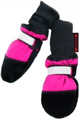 Muttluks Fleece overseas Lined Dog Boots Set of Pink Year-end annual account to 4 3.75
