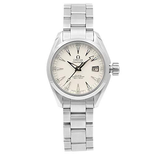 Omega Seamaster Aqua Terra Acero Reloj automático para mujer 231.10.30.20.02.001