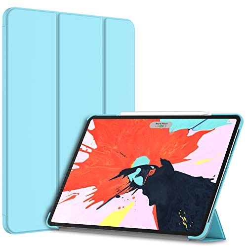 JETech Case for iPad Pro 12.9-Inch 2018 Model (NOT for 2020 Model), Compatible with Pencil, Cover Auto Wake/Sleep, Blue