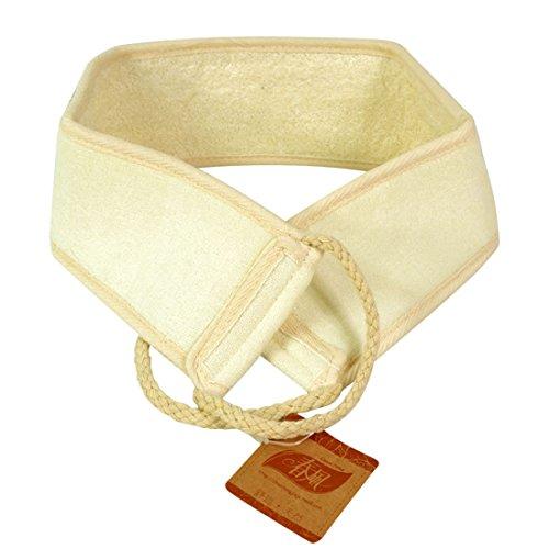 Andux Zone Massage Luffa Rückengurt für Sanftes, Intensives Peeling und Massage, Rückenreiber CBD-01