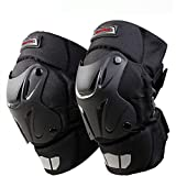 CRAZY AL'S® CAK Motorcycle Motocross Racing Knee Guards Pads Braces Protective Gear Black
