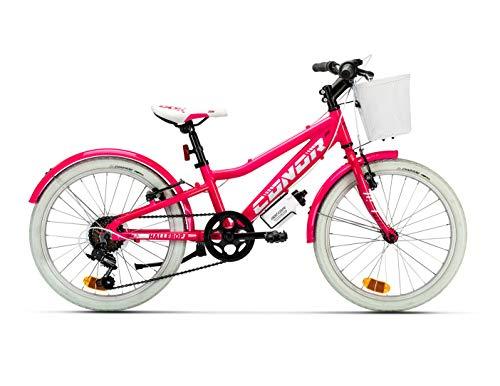 Conor Bicicleta HALEBOB Rosa. Bicicleta Infantil de Cuatro Ruedas. Bici para niños...