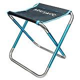 Tabouret de camping ultraléger et pliable pour activités en plein air, pêche, randonnée, voyage (30,5 x...