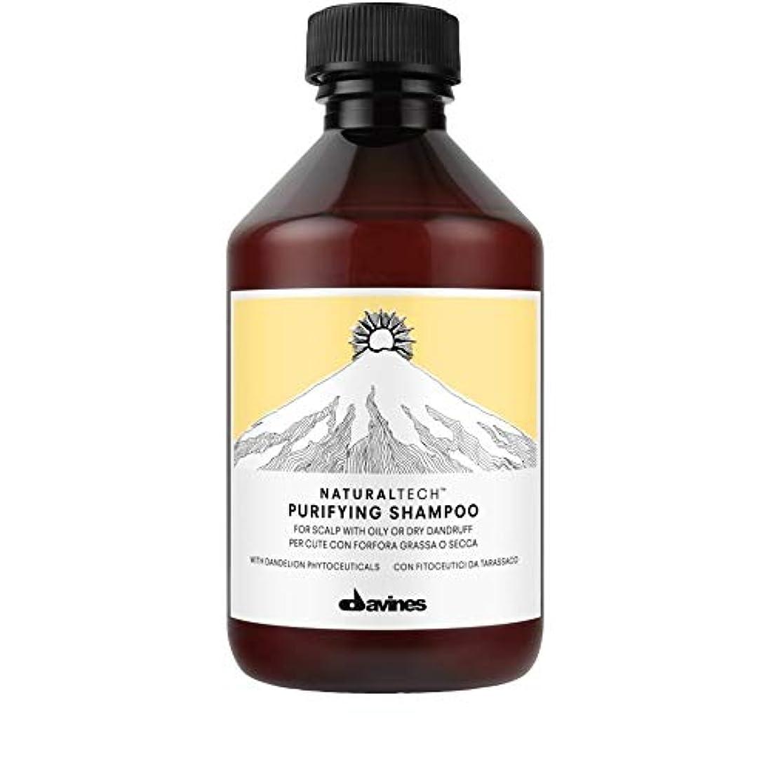オフセットフェッチ合体[Davines ] ダヴィネス浄化フケ防止シャンプー250Ml - Davines Purifying Anti-Dandruff Shampoo 250ml [並行輸入品]