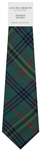 I Luv Ltd Gents Neck Tie Kennedy Ancient Tartan Lightweight Scottish Clan Tie