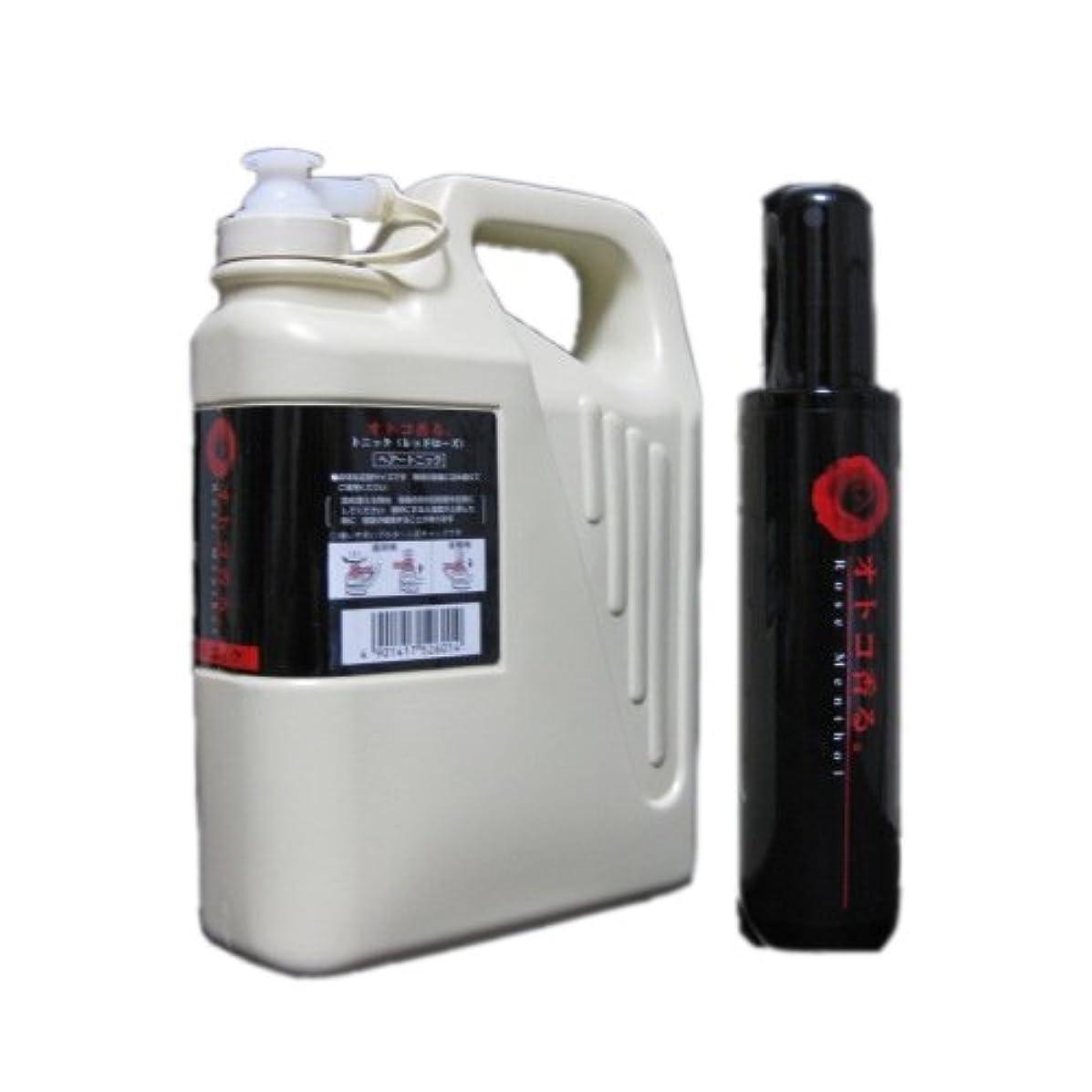 ノート連続的最初はクラシエ オトコ香る。フレグランストニック レッドローズ150ml+1050ml Lサイズ(業務?詰替用)セット