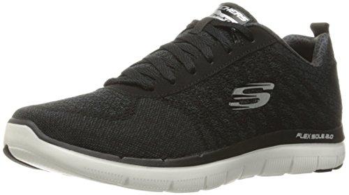 Skechers Skechers Herren Flex Advantage 2.0Golden Point Sneakers, Schwarz (BKW), 7 UK 41 EU