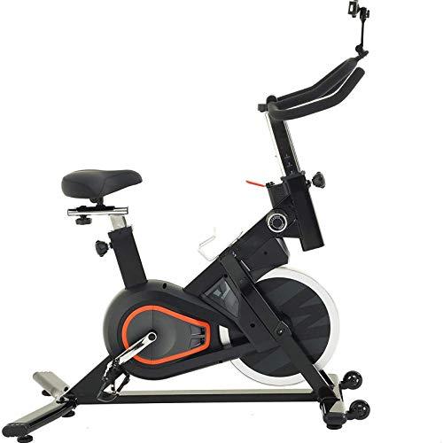 WJFXJQ Bicicleta de Ejercicios, Bicicleta de Ciclismo Interior con cómodo cojín de Asiento, Bicicleta estacionaria Resistencia magnética Susurro silencioso para el Entrenamiento de Cardio en casa