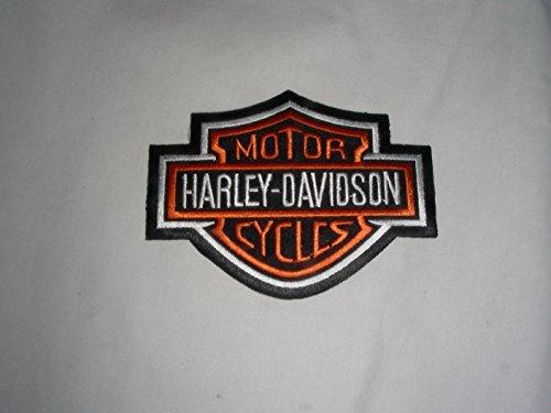 Patch toppa termoadesiva ricamo HARLEY DAVIDSON cm 5 x 4 REPLICA- 1320