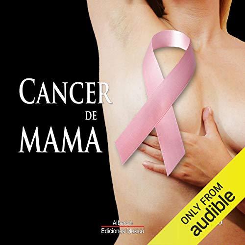 Diseño de la portada del título Cancer de mama