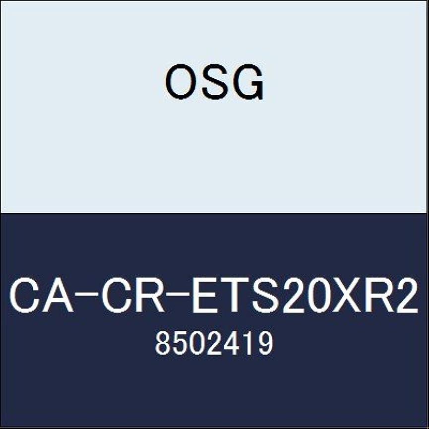 バレル破壊的エクステントOSG エンドミル CA-CR-ETS20XR2 商品番号 8502419