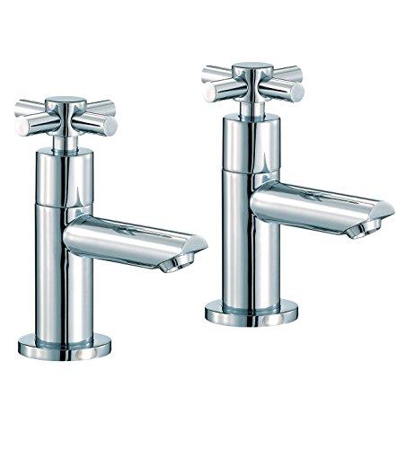 Mayfair serie C par de grifos para lavabo cromado scx001