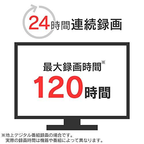 アイリスオーヤマテレビ録画用外付けハードディスク1TBブラックHD-IR1-V1