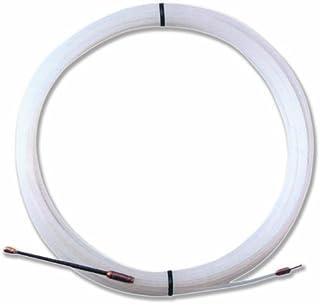 comprar comparacion Electraline 21382018I, Guía pasahílos Nailon, 25 M, Diámetro 3 mm, Color Blanco