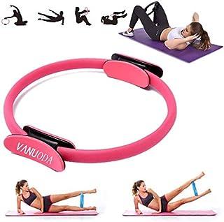 anillo de pilates ultrapretado para cuerpo equilibrado y anillo de pilates Fitness Circle Hughdy Anillo de pilates irrompible