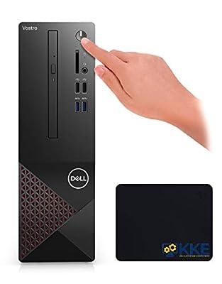 2021 Newest Dell Vostro (Better Than Inspiron) 3000 Series 3681 SFF Desktop PC, Intel Core i3-10100 Quad-Core Processor, 12GB RAM, 1TB Hard Disk Drive, WiFi, HDMI, VGA, DVD, Windows 10 Pro, KKE Bundle