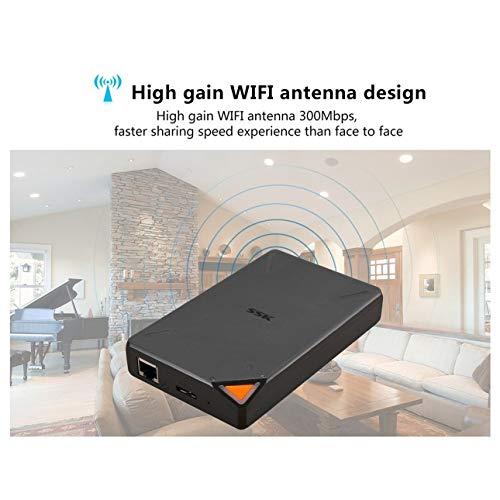 Ballylelly-SSK SSM-F200 WiFi Externe Festplatten 1TB Wireless-Smart-Memory-Festplatte