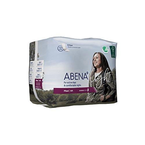 Abena Adulte incontinence Pad, Maxi, clair n ° 4A, Lot de 6