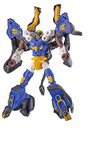 Hello CARBOT Movie Theater Version Animation Anime The Secret of Island Omparos Animal Carbot Falo Transforming Trasformation Action Figure Figurine Toy Robot