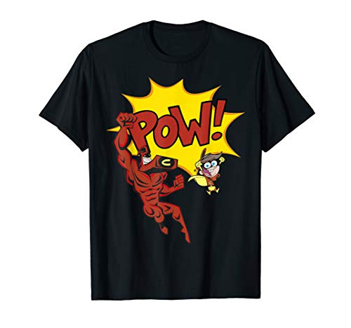 Nickelodeon The Fairly OddParents Cleft And Crimson Chin POW T-Shirt