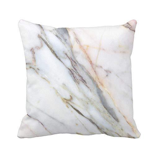 N\A Housse de Coussin Marron Abstrait marbre bâtiments industriels Murs comptoirs Gris Antique taie d'oreiller Maison décorative carrée taie d'oreiller Housse de Coussin