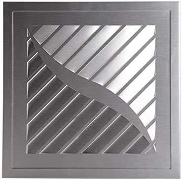 JSYHXYK Ventilador de Escape Integrado Mute Ventilador de Escape de la Cocina Ventilador Transpirable Ventilador de Escape de Cobre 300 * 300mm,Silver
