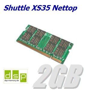 DSP Memory 2GB Speicher/RAM für Shuttle XS35 Nettop