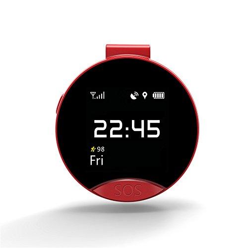 S9GPS Positionierung Monitor, gzlmmy 3cm Smart Taschenuhr SOS Notruf und Zweiwege-Dialing unterstützt Android und IOS