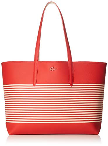 Lacoste Bag Shopping 2793 Red White Farbe: Red