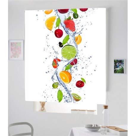 Estor Iroa Digital Cocina Fruta 001 ¡ESTORES ENROLLABLES TRANSLUCIDO O Screen! (80X230,...