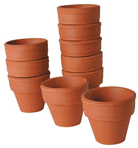 Petit Pot Terre Cuite - Lot De 10 [Jouet]